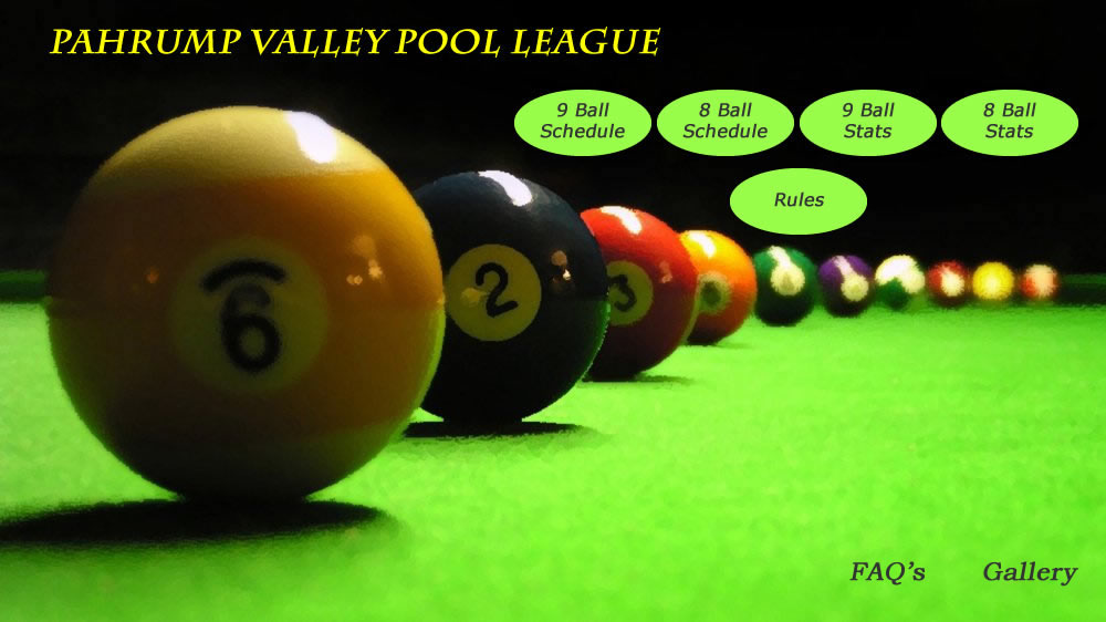 Pahrump Valley Pool League